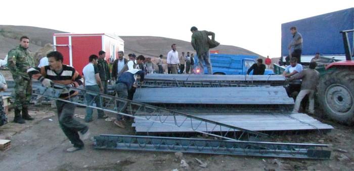 گزارشی از عملکرد ما در شصت روز پس از زلزله