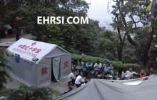 گزارش روز اول حضور در زلزله نپال کاتماندو