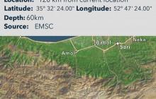 زلزله تهران امشب ، متاثر از حرکت یک گسل در یکصد کیلومتری تهران بود
